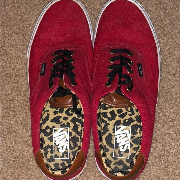 Vans era 59 red leopard daabf1e85a